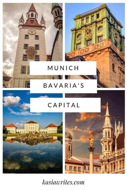 Munich Bavaria's capital