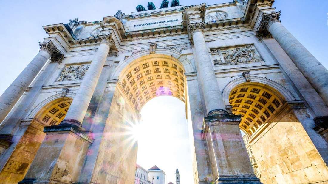 Triumphant arch in Munich