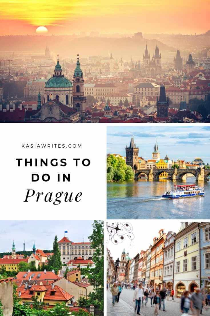 collage of things to do in Prague