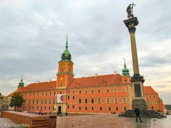 Warsaw Castle exterior