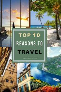 reason to travel beach, cruise, airport and old city walls