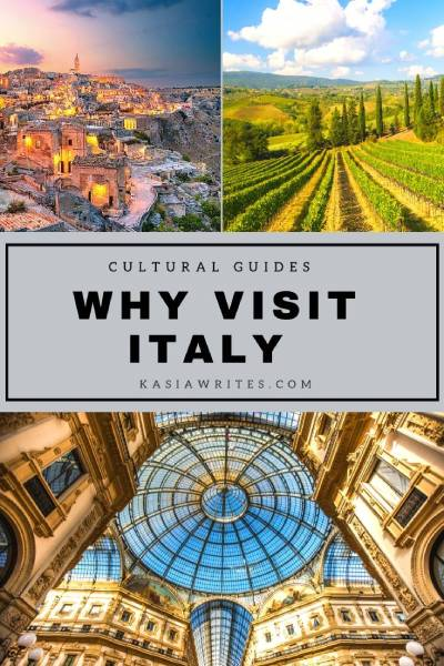 10 reasons to visit Italy