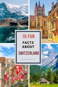 fun facts about Switzerland