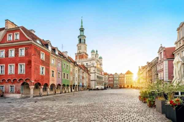 old city square in Poland