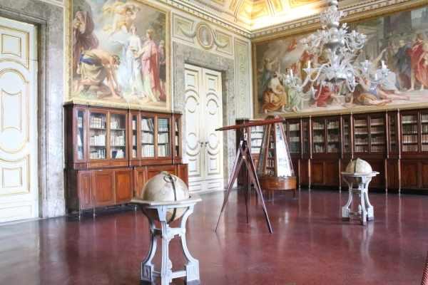 library sitting room Reggia di Caserta
