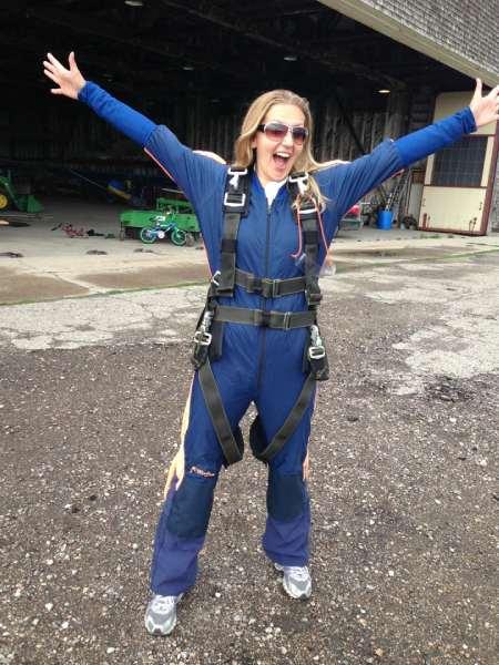 Adrenaline adventures: skydiving