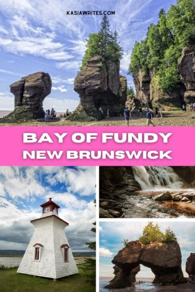 The Bay of Fundy, a one-of-a-kind adventure in New Brunswick | kasiawrites cultural travel