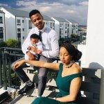 Oros Mampofu's baby mama