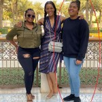 Connie Ferguson and Daughters