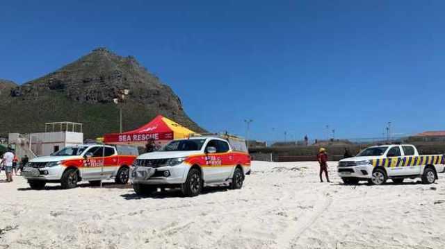 Muizenberg beach closed
