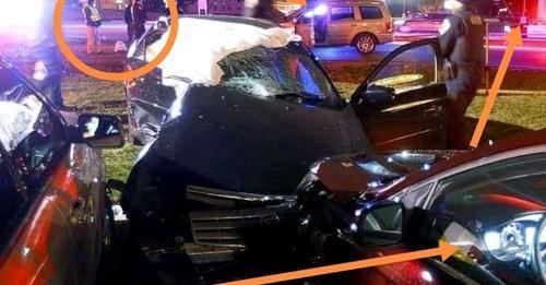Killer Kau and Mpura Accident Scene