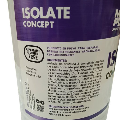 PROTEÍNA ISOLATE CONCEPT