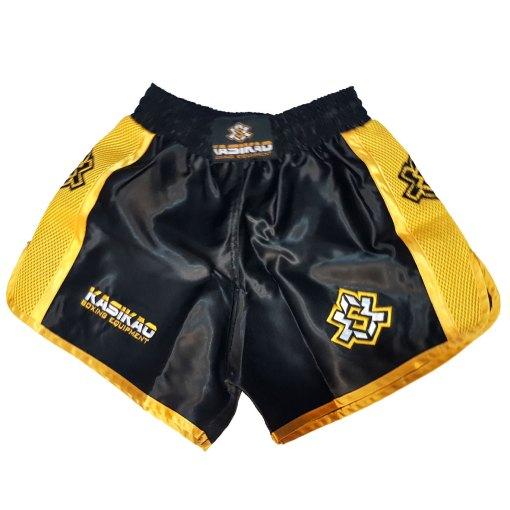 Pantalón Baby Clásico Negro/Oro