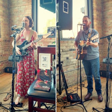 Thanks to Aislyn June Photography for taking these photos of Jason Bryant and me! I had an amazing time last night, and I just can't say thank you enough to everyone who was able to make it out to Fetch Brewing near my hometown. It meant so much to see all your faces. July 22
