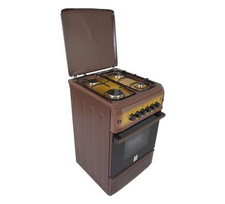 Standing Cooker, 50cm X 55cm, 4GB, Gas Oven, Light Brown TDF