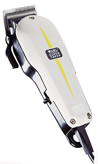 Classic Series Super Taper Professional Hair Shaver - White