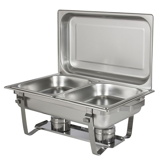 2 compartment chaffing dish