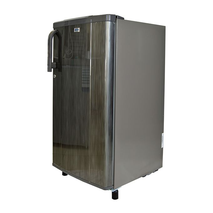 Bruhm BRS 203P - Single Door Refrigerator - 6Cu.Ft - 170 Litres - Silver Grey