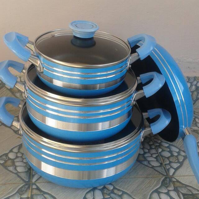 7Pcs Non-Stick Cookware Set