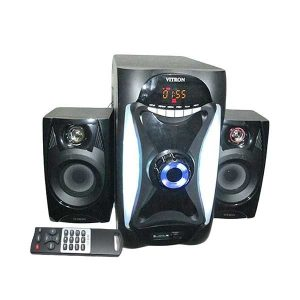 Vitron Bluetooth Super Bass Surround Woffer F-1031BT – 2.1 Channel Speakers – 8800W