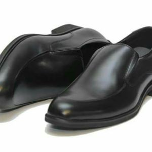 Clarks official Leather Shoes-Black