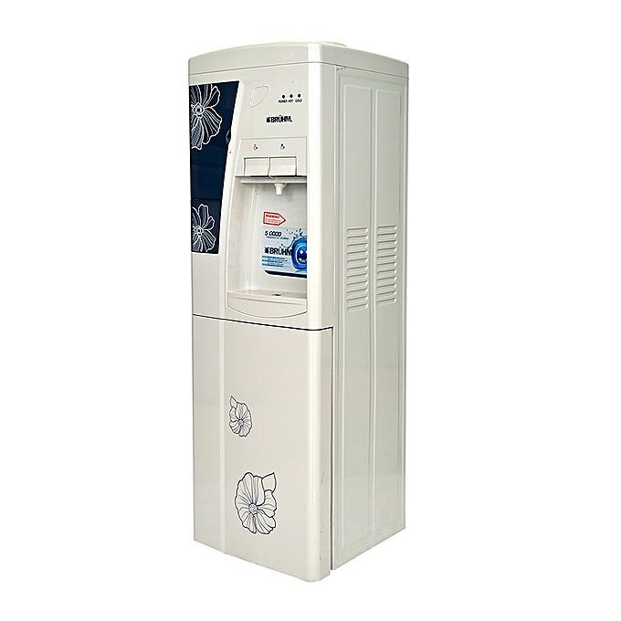 Bruhm BWD HC 39C - Water Dispenser - Grey floral design