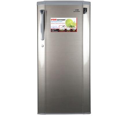Von Hotpoint HRD-191S Single Door Fridge 170L Silver,Frost,LVS,LED