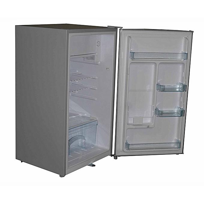 Super General SGR-131HS - Refrigerator 1 Door Fridge -Direct Cool Fridge - 100 Litres - Silver