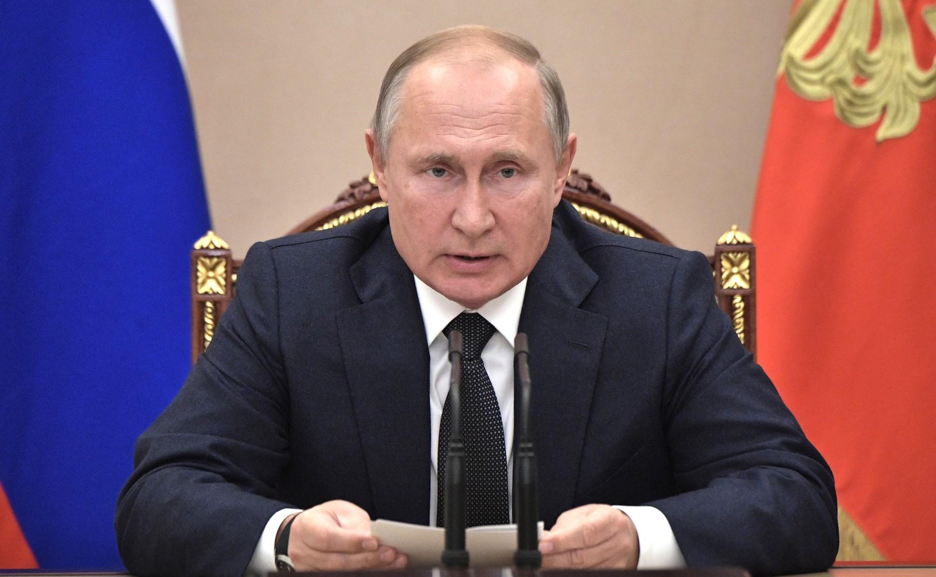 Сегодня Владимир Путин снова обратится к россиянам   КаспийИнфо