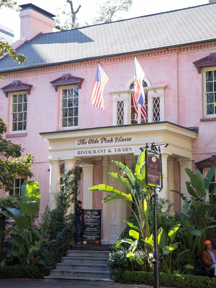 The Olde Pink House, Savannah