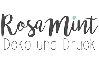 Rosa Mint | Deko und Druck
