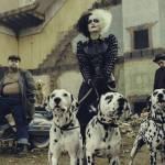 Emma Stone as Cruella in disney film
