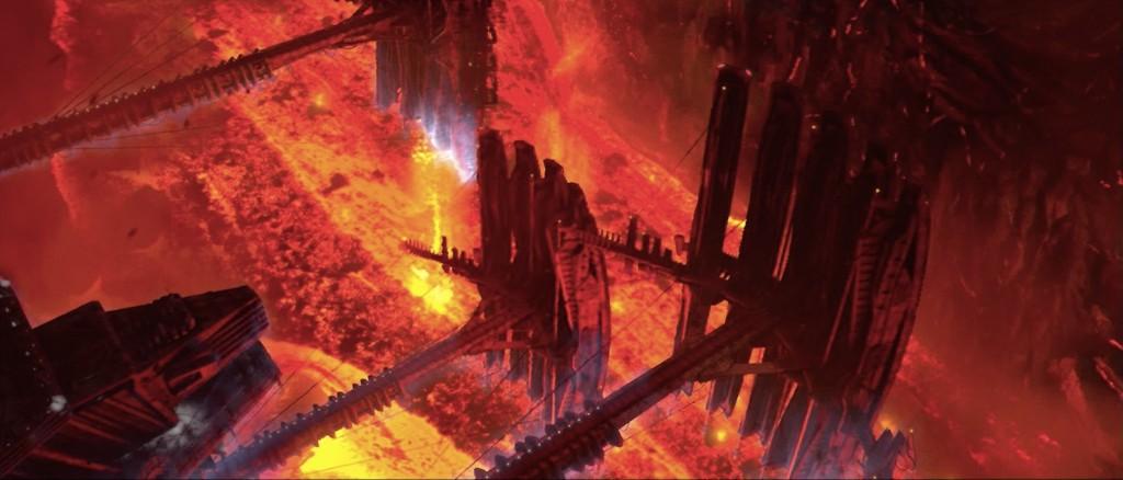 star wars prequels mustafar lava