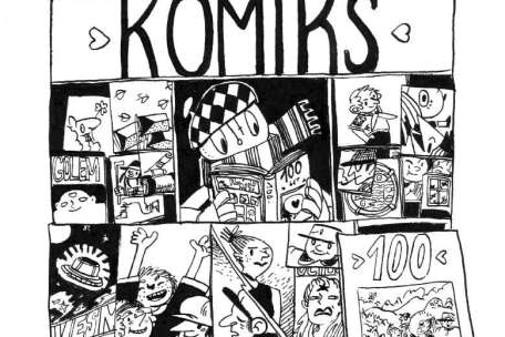 Page of a Comic from a creator the Czech Repulbic