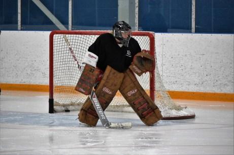 Just Goalie hockey session