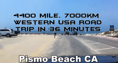 WATCH: 4400 MILE (7000KM) WESTERN UNITED STATES ROAD TRIP TIMELAPSE