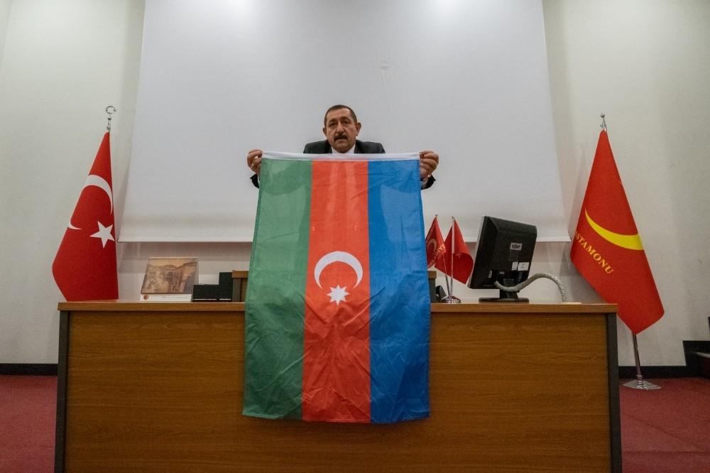 Kastamonu Belediye meclisinden Azerbaycan'a destek