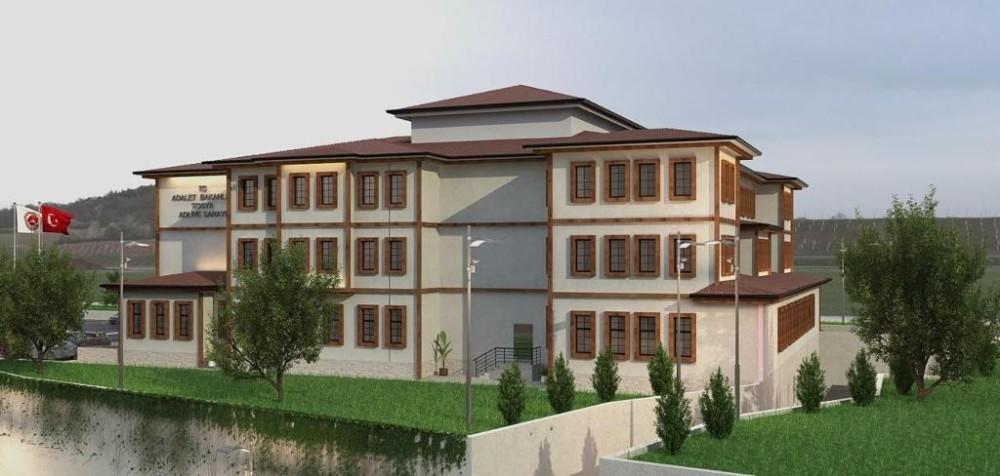 Tosya Adliye Sarayı binası yapım ihalesine çıkıyor