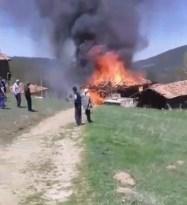 Kastamonu'da bayram günü yangın faciası: 1 ölü