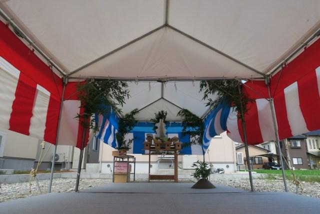 特別企業地鎮祭祭壇