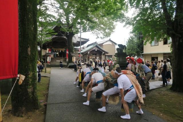 国造神社 泉獅子舞演舞01(平成30年)