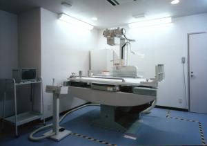 レントゲン検査室