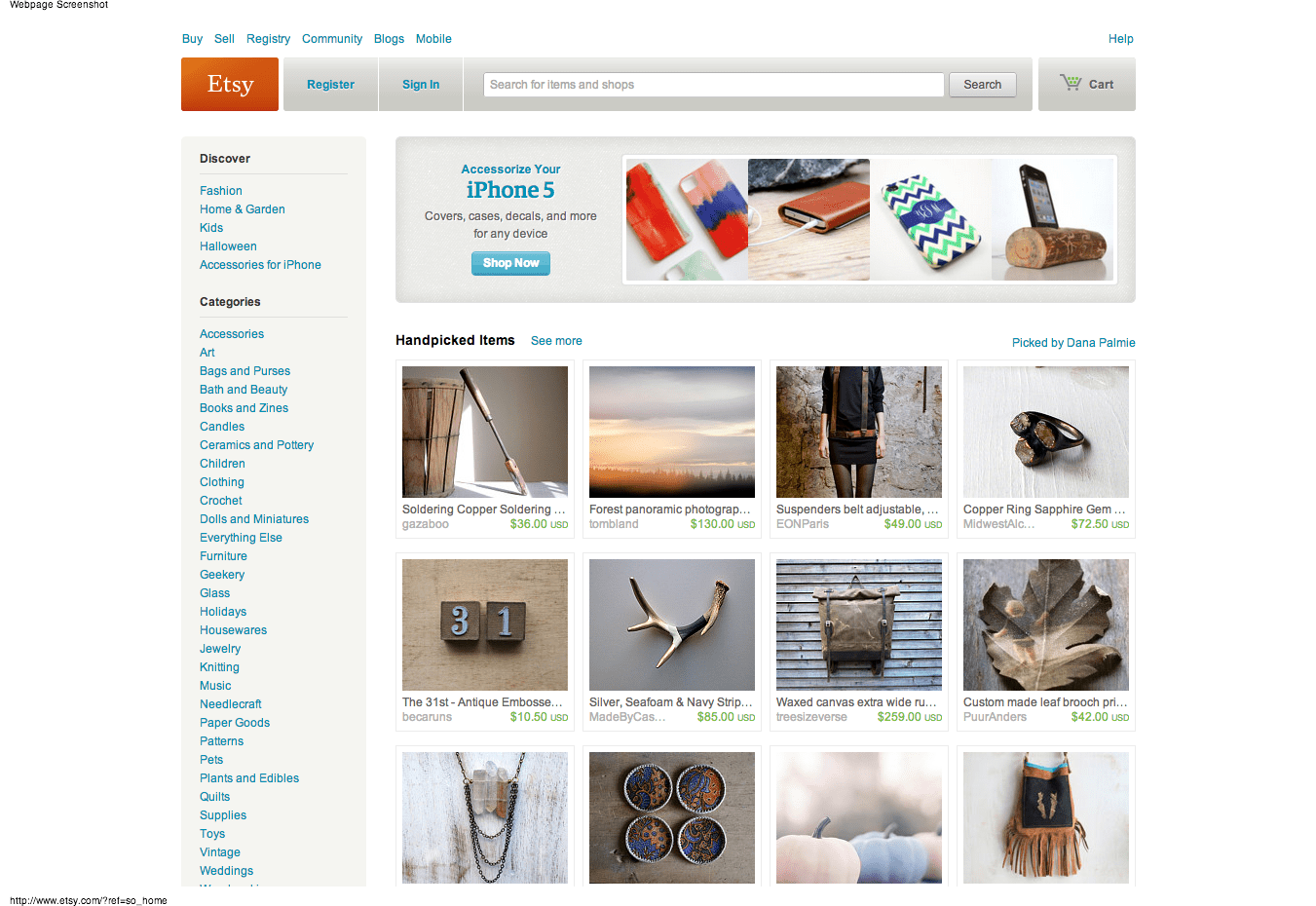 Etsy Your Place To Buy And Sell All Things Handmadehtml