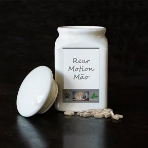 RearMotion-Māo, voor achterhand en rug