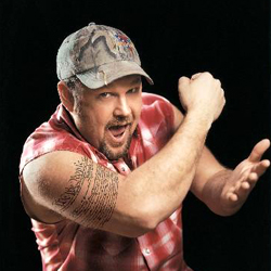 You would think the President could have spent a couple of extra $$ for Larry the Cable Guy.