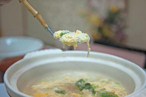 ハモ鍋雑炊