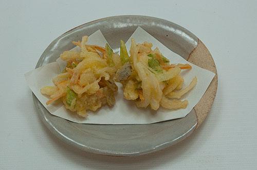 玉葱のかき揚げ