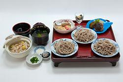 堅木屋のお昼の料理