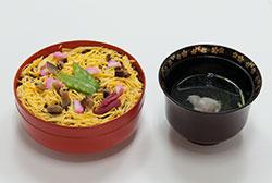 初夏の料理 ばら寿司 吸い物