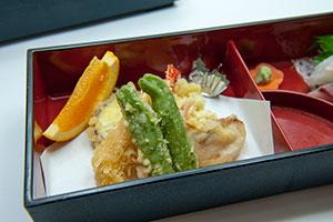 二段弁当 天ぷら